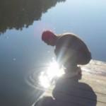 """Отчёт о карповой рыбалке за 17.08.2013г.  Озеро Трофейное в СМИ.  Необычный урок  """"рыболовной терапии """" провели на..."""