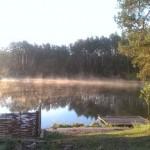 озеро Трофейное с утра